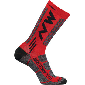 Northwave Husky Ceramic Tech 2 High Socks red